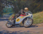 motorcycle racing art Mike Hailwood