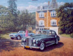 Rolls Royce Silver Cloud automotive painting